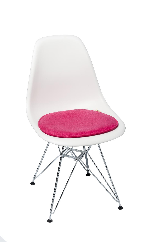 stylische sitzkissen violan eames side chair 40 5 x 36 5 cm margreblue entdecke das blau in dir. Black Bedroom Furniture Sets. Home Design Ideas