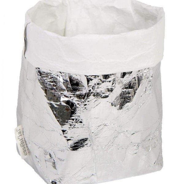 Silbernersack aus Papier