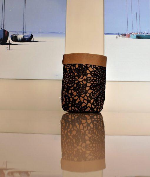Häckelmuster Papiersäckchen