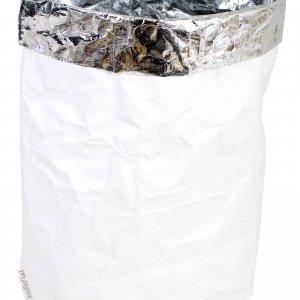 Papiersack Weiß groß