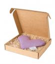 Lavendel Herz in Heidekraut