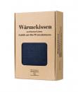 Wärmekissenverpackung dunkel blau