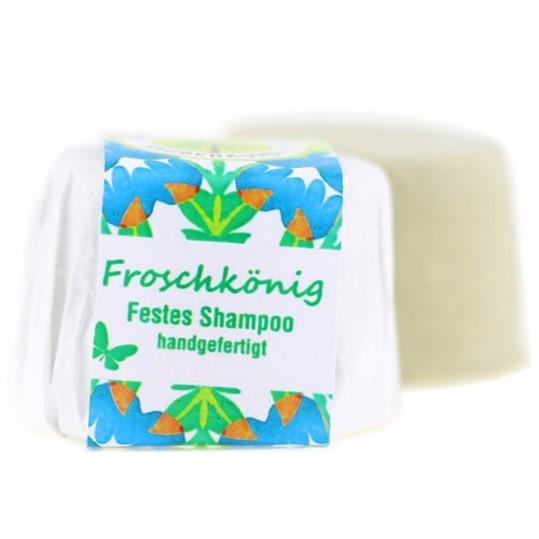 Froschkönig Festes Shampoo Für Normales Bis Schnell Fettendes Haar
